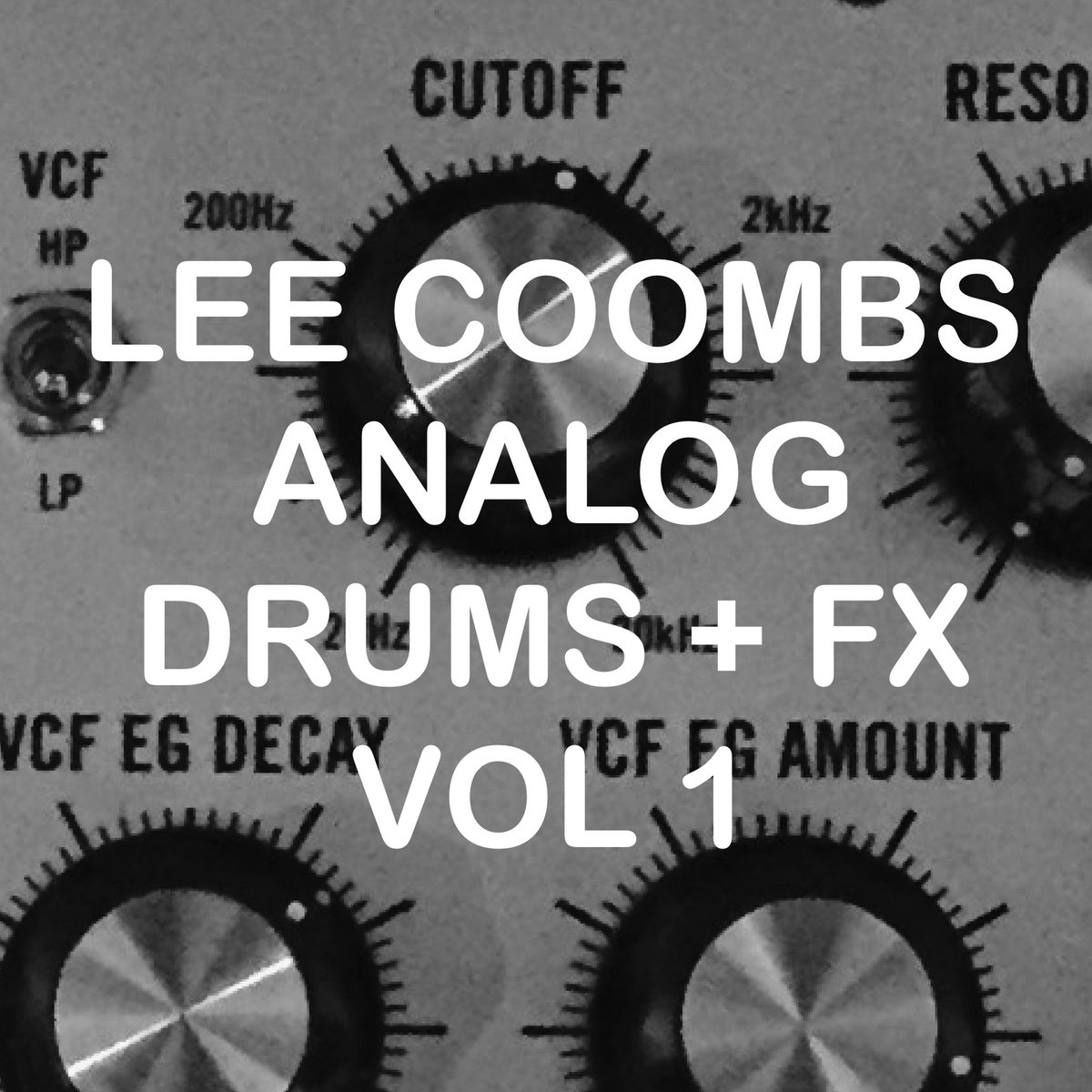 Lee Coombs Analog Drums and FX Vol 1 Sample Pack | Thrust