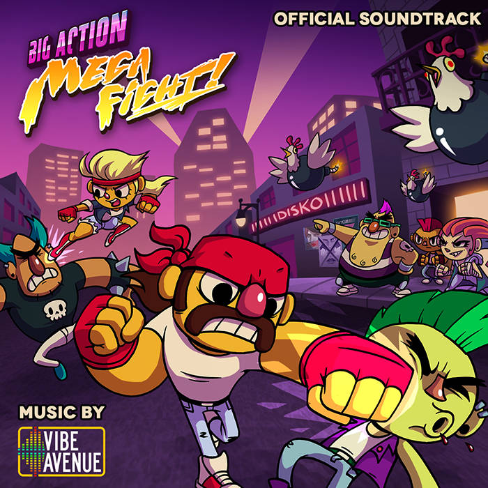 Big Action Mega Fight! OST cover art