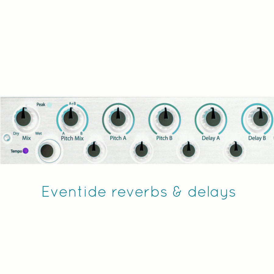 Eventide Reverbs and Delays Impulse Set | Flo Audio
