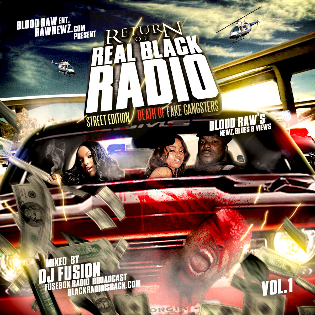 Blood Raw Feat Gator Mighty Mike Mr Bones Salute You Fusebox The Game Fuse Box Com Presents Return Of Real Black Radio Streets Edition Death Fake Gangsters Vol 1 Bloodraws News Blues Views Mixed By Dj Fusion