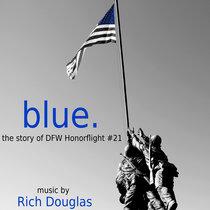 blue. cover art