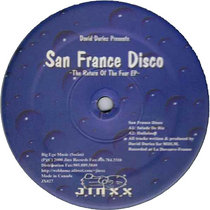 David Duriez presents San France Disco - The Return Of The Fear [2020 Remastered] cover art