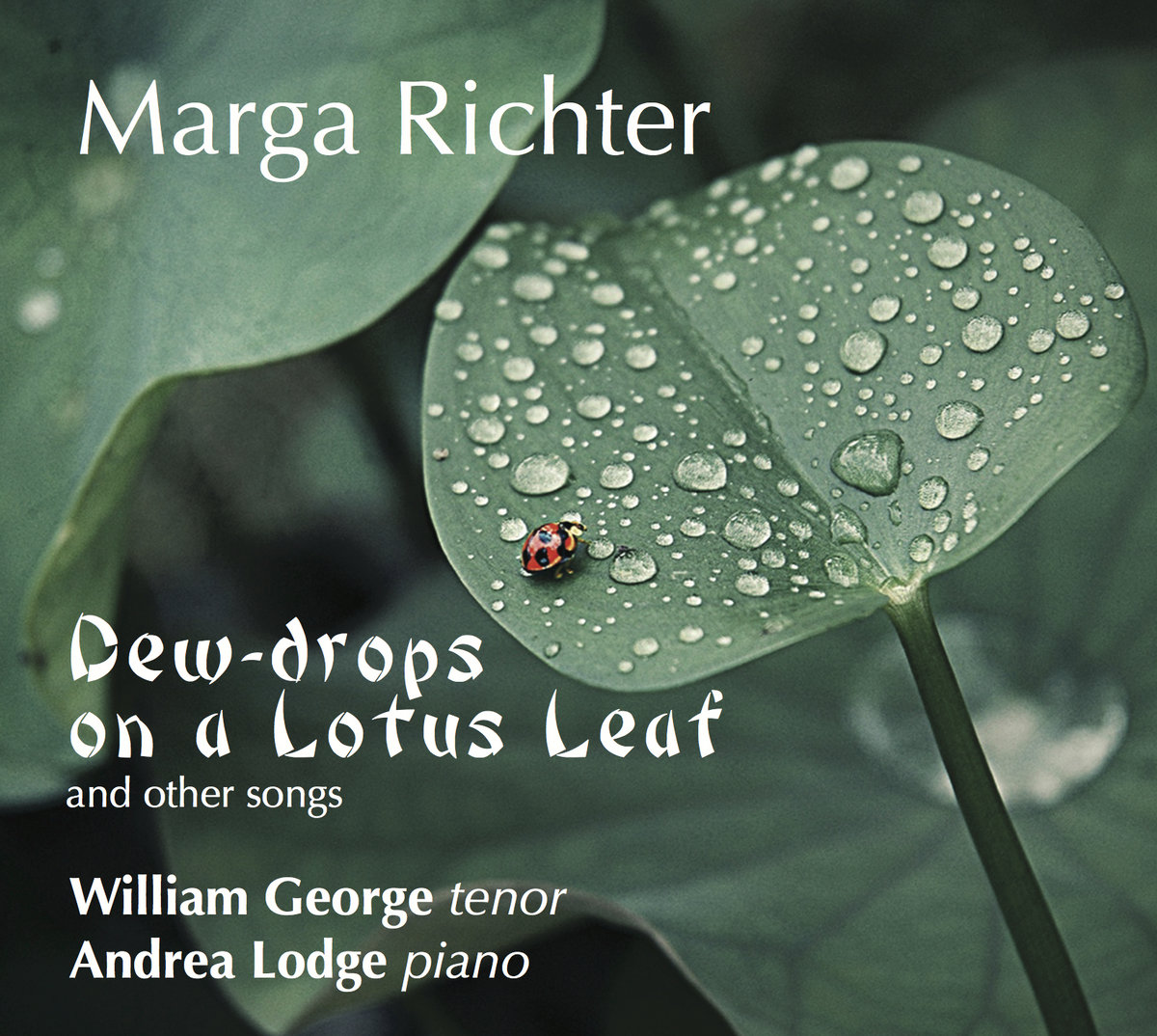 Dew Drops On A Lotus Leaf Redshift Music