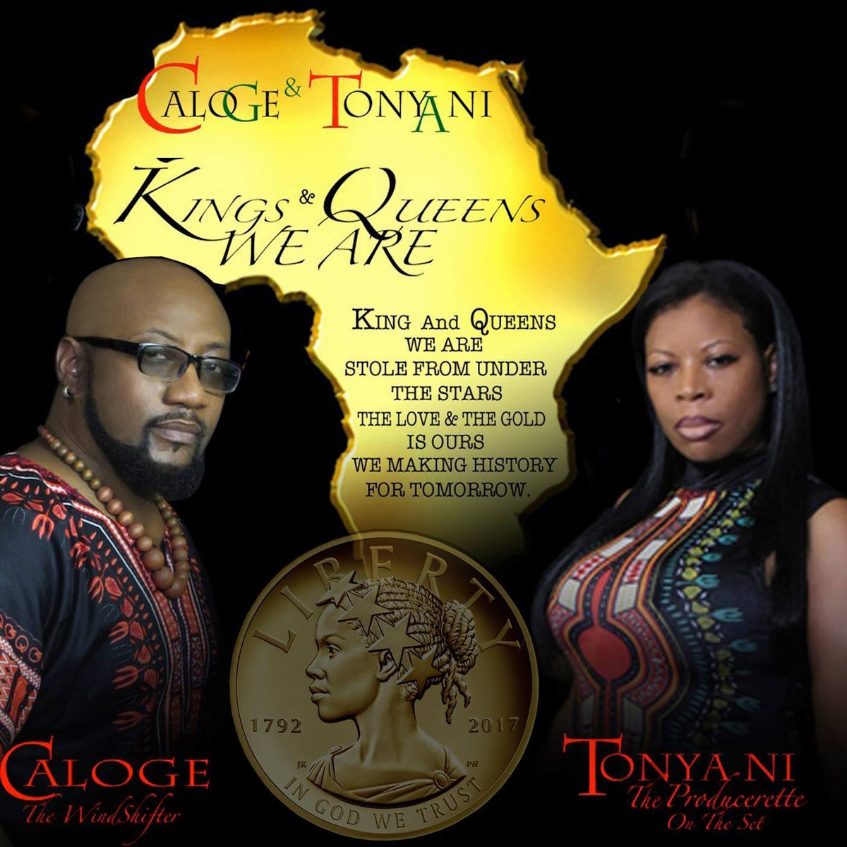 Kings and Queens We Are by Caloge & Tonya Ni