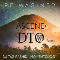 Ascend (DTO Remix) by DJ Taz Rashid and Momentology cover art