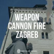 Cannon Fire Sound Effects! Lotrščak Tower Zagreb cover art
