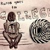 Russo Goes To College: Demo Cover Art