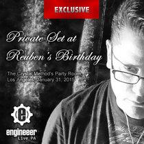 Reuben's Brithday Live PA 01/31/2015 cover art