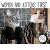 Women and Kittens First Cover Art