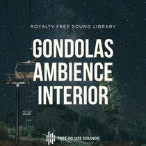 Gondola Sounds   Ski Lift Sound Library  Ambience & Interior cover art