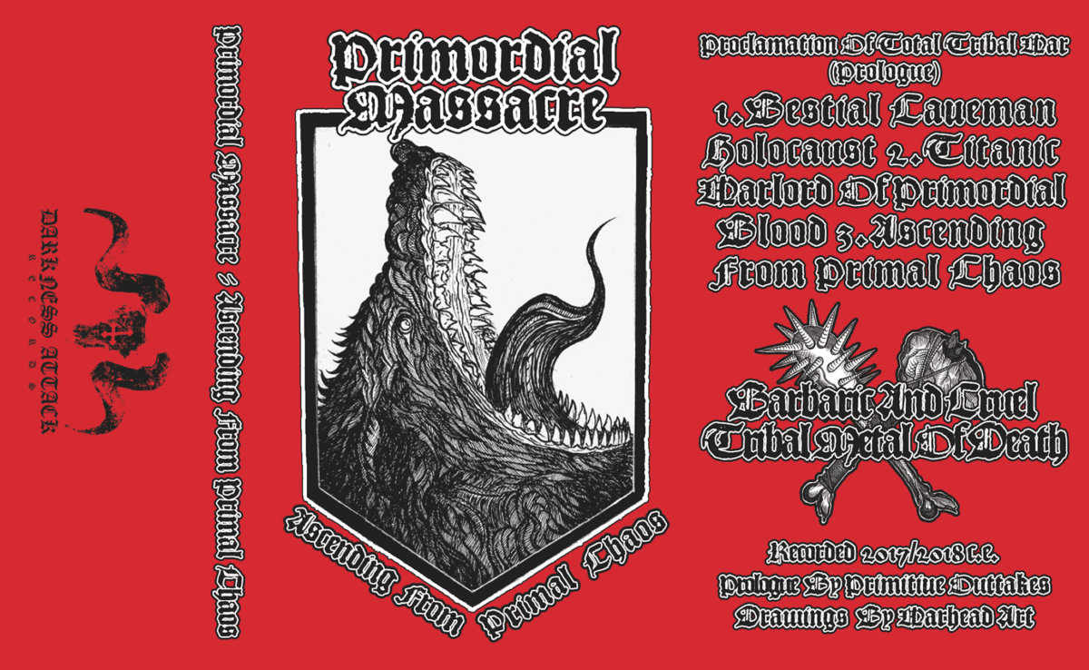 Ascending from Primordial Chaos | DARKNESS ATTACK RECORDS