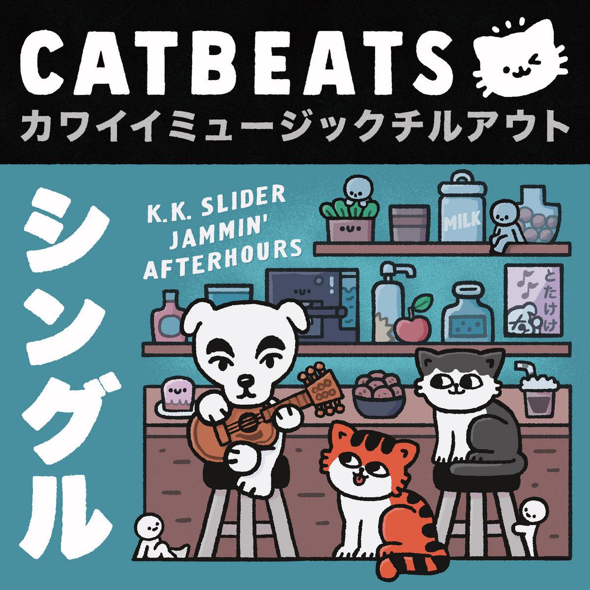 K K Slider Cat Cafe Jam 1 Cappuccino Catbeats