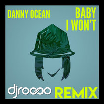 Baby I Won't (Remix) cover art