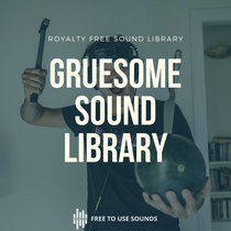 Gruesome Sounds Bloody Gory Stabby Sound Effects Library cover art