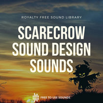 Scarecrow Sounds, Mechanical Windmill Sound Effects For Sound Design cover art