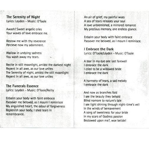 The Funerals Essence | IRISH METAL ARCHIVE