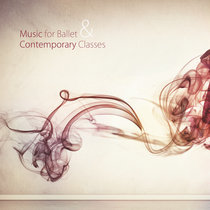 """""""Music For Ballet & Contemporary Classes"""" OBS 2 CD's - 35 tracks cover art"""