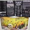 "F.K.R.#09: GROMBIERA & PAPRIKA 4-Way Split 12"" LP Cover Art"