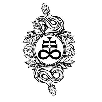 Резултат с изображение за snake satanic symbol