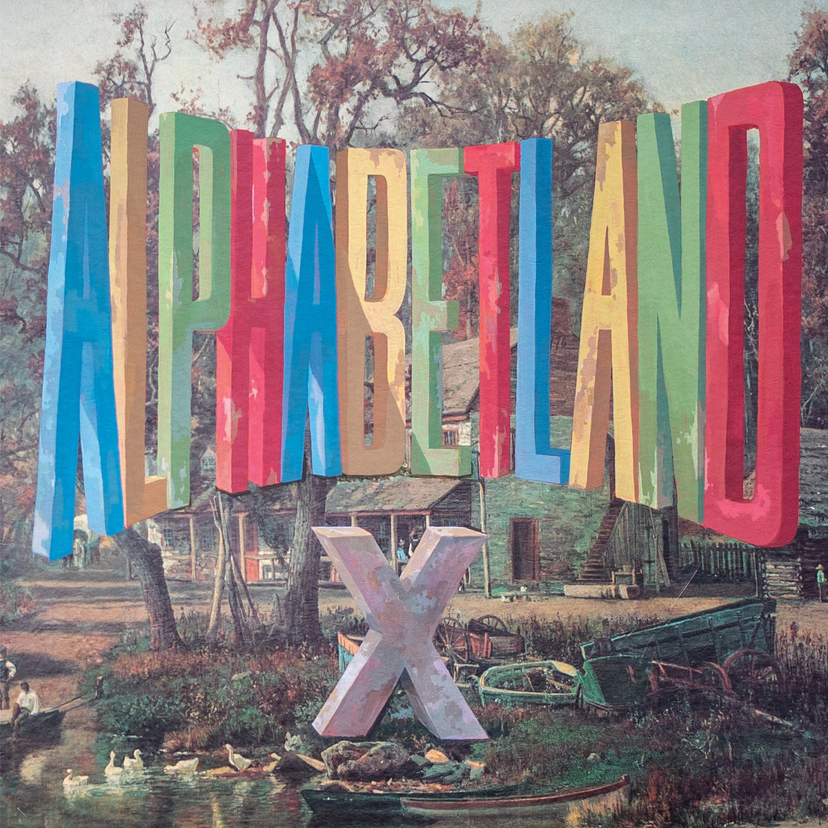 Cover of X - Alphabetland