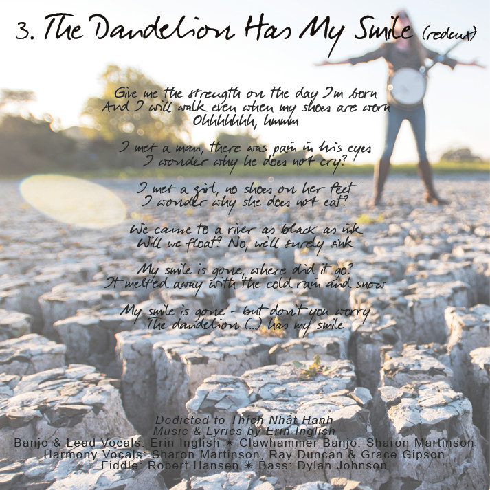 The Dandelion Has My Smile Redeux Erin Inglish