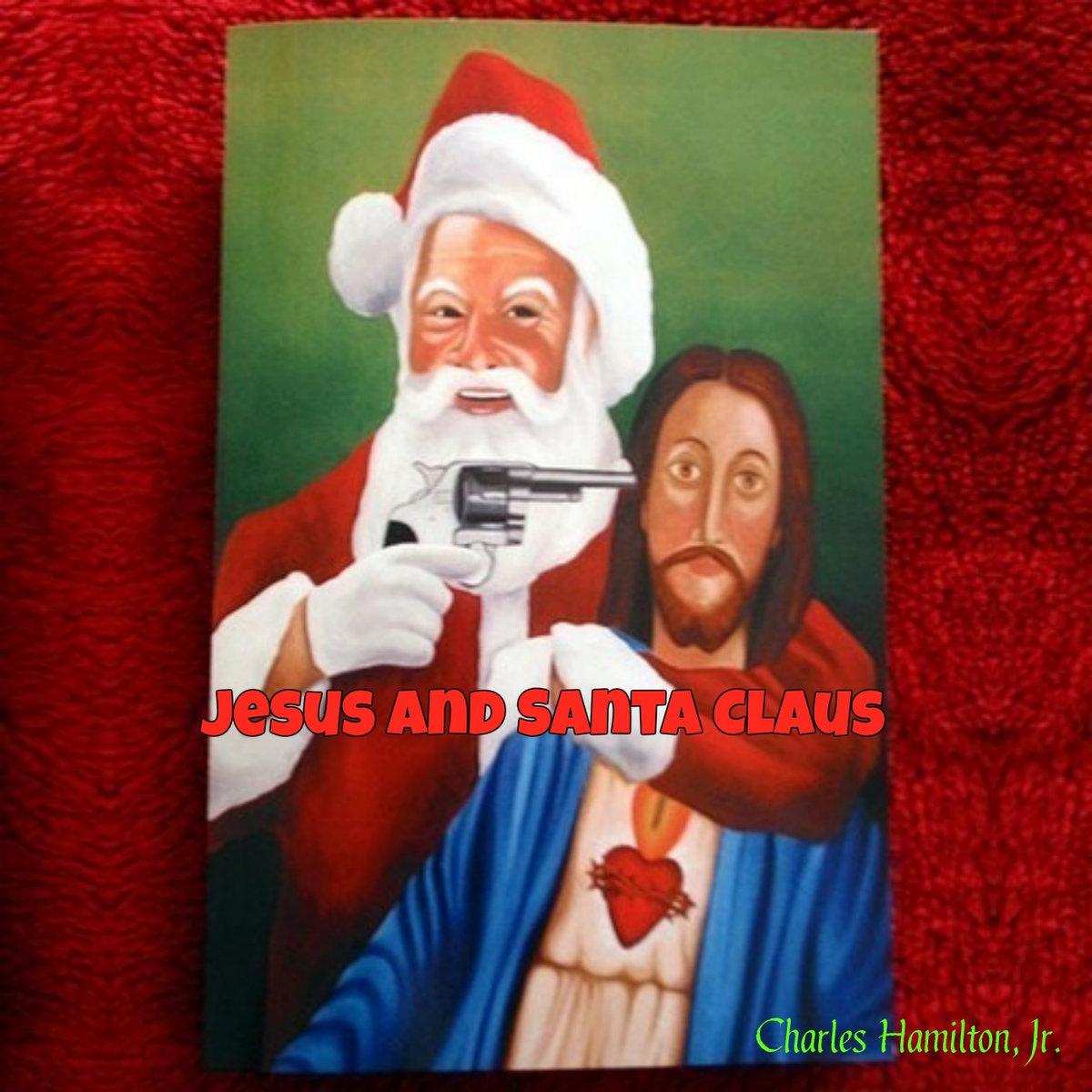 jesus santa claus - Santa And Jesus
