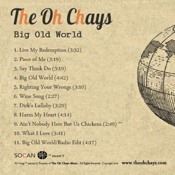 Big Old World by The Oh Chays
