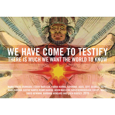 We Have Come To Testify main photo