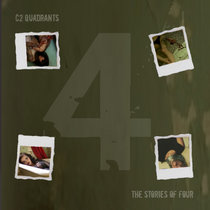 QUADRANTS: the stories of four cover art