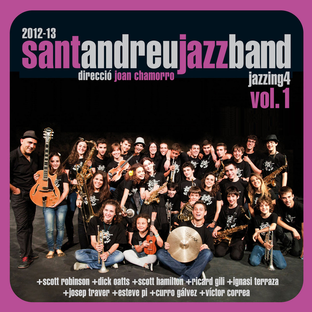 Jazzing 4, vol 1 | Sant Andreu Jazz Band