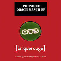 [BR033] : Phonique - Misch Masch ep [2020 Remastered Version] incl.exclusive bonus track cover art