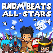 RNDM BEATS ALL-STARS (mixed by Kingsize The Vet) cover art