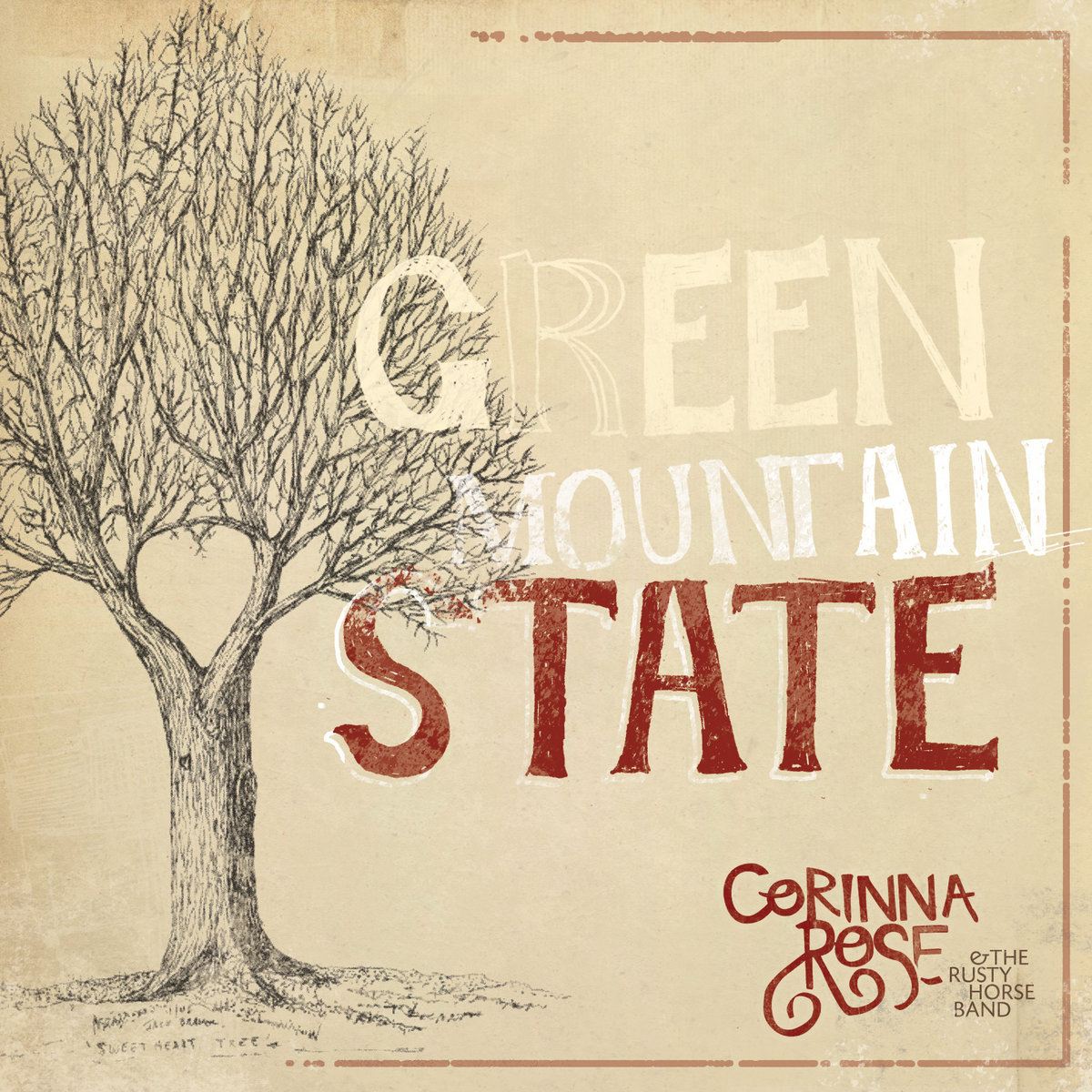 Green Mountain State by Corinna Rose & The Rusty Horse Band