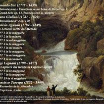 Maestri dell'ottocento chitarristico cover art