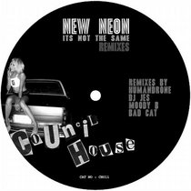 Council House Records 'It's not the same' Remix E.P. cover art