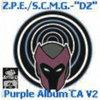 """Drop-Zone"" The Purple Album MixTape Chapter A Volume 2 Cover Art"