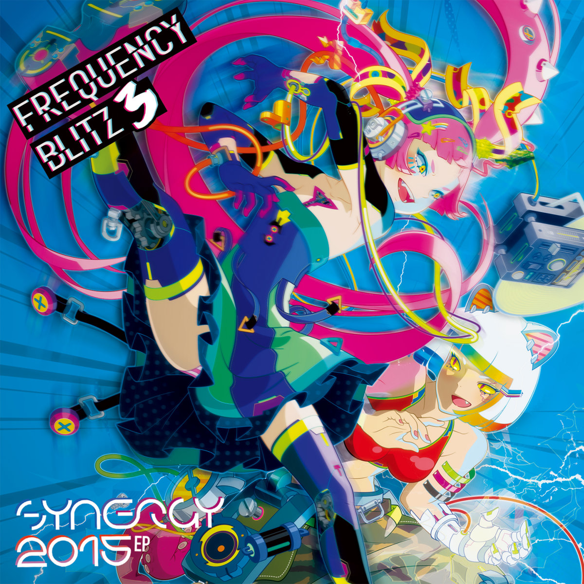 FREQUENCY BLITZ 3/Synergy 2015 EP set | Attack The Music