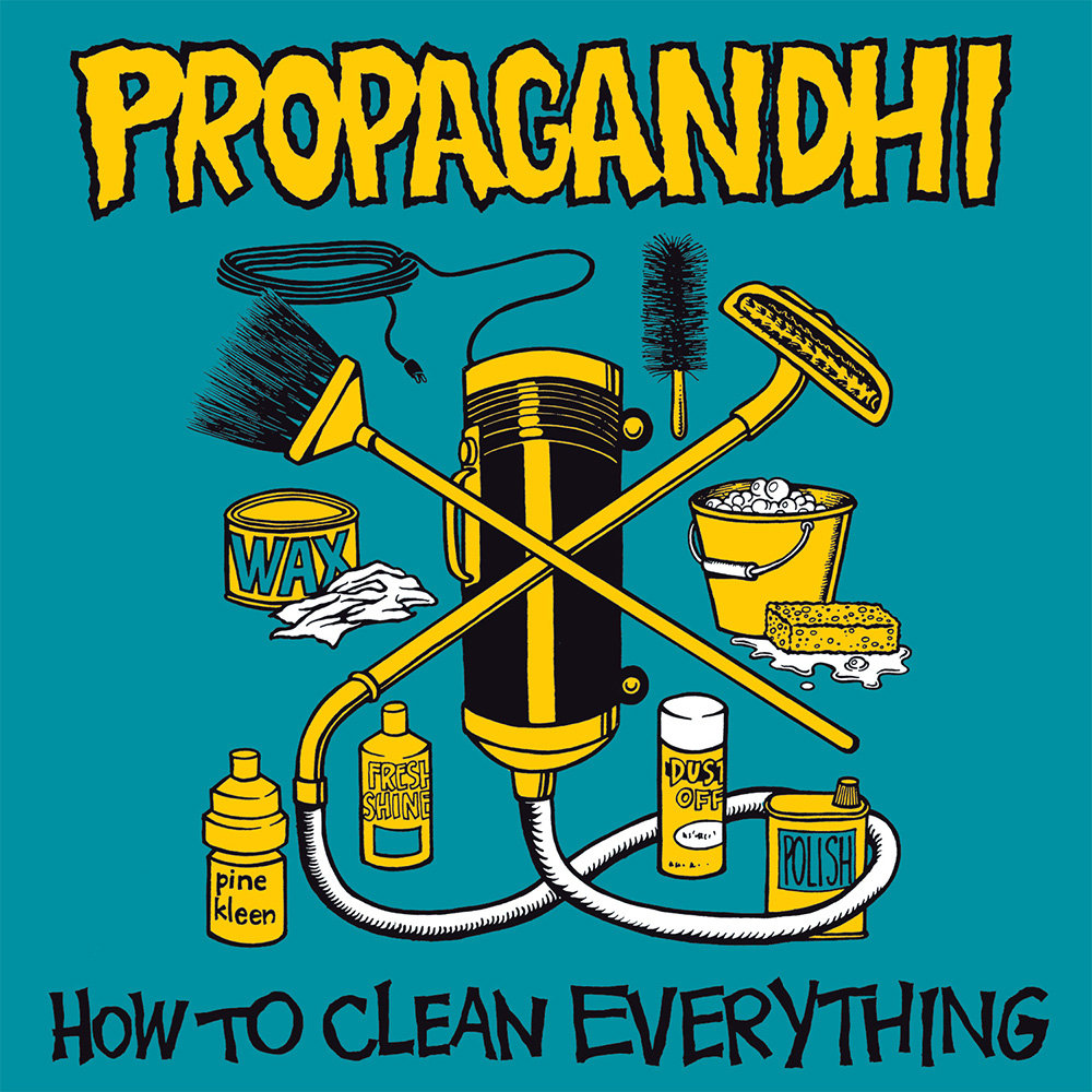 Image result for propagandhi how to clean everything