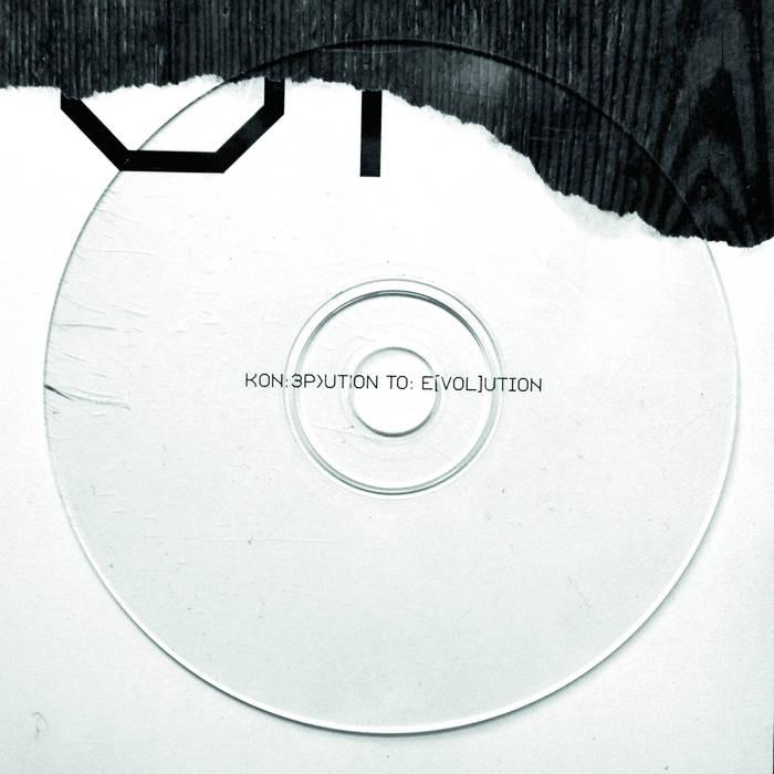 Kon:3p>UTION to: e[VOL]ution cover art
