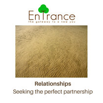 Relationships - Seeking the perfect partnership cover art