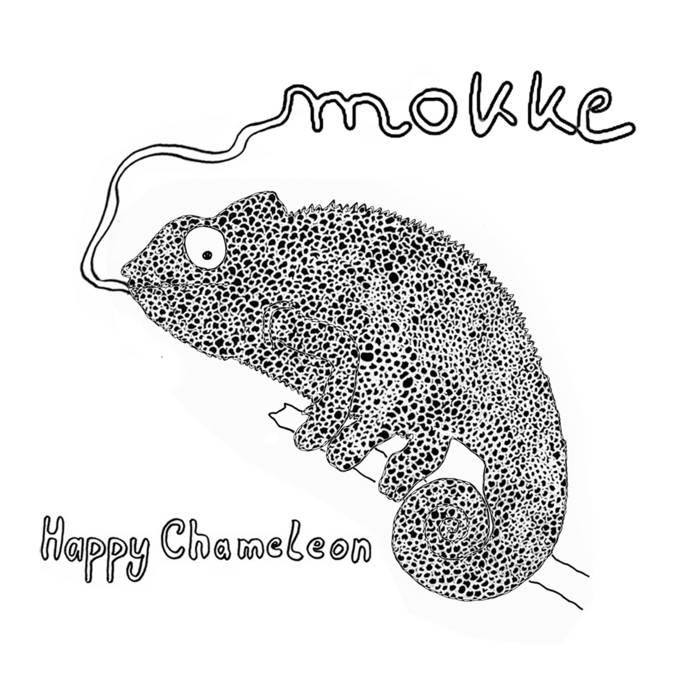 happy chameleon  mokke