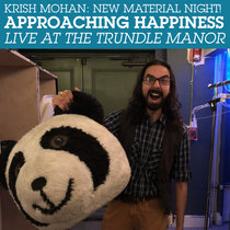New Material Night: Approaching Happiness-Live At The Trundle Manor cover art