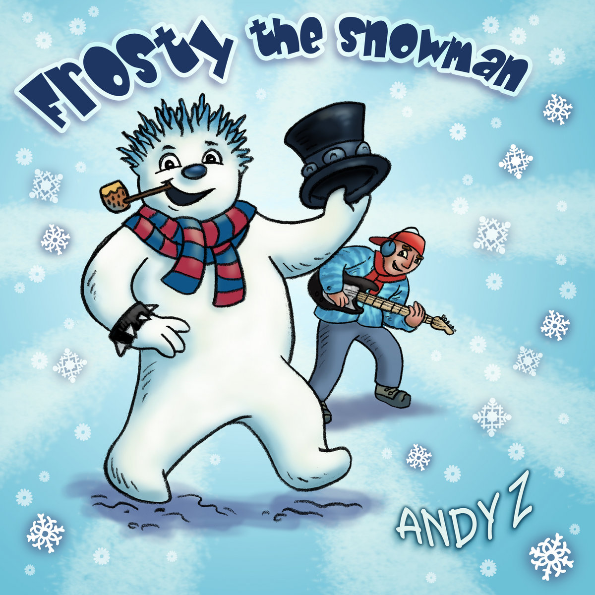 Frosty The Snowman (single) by Andy Z