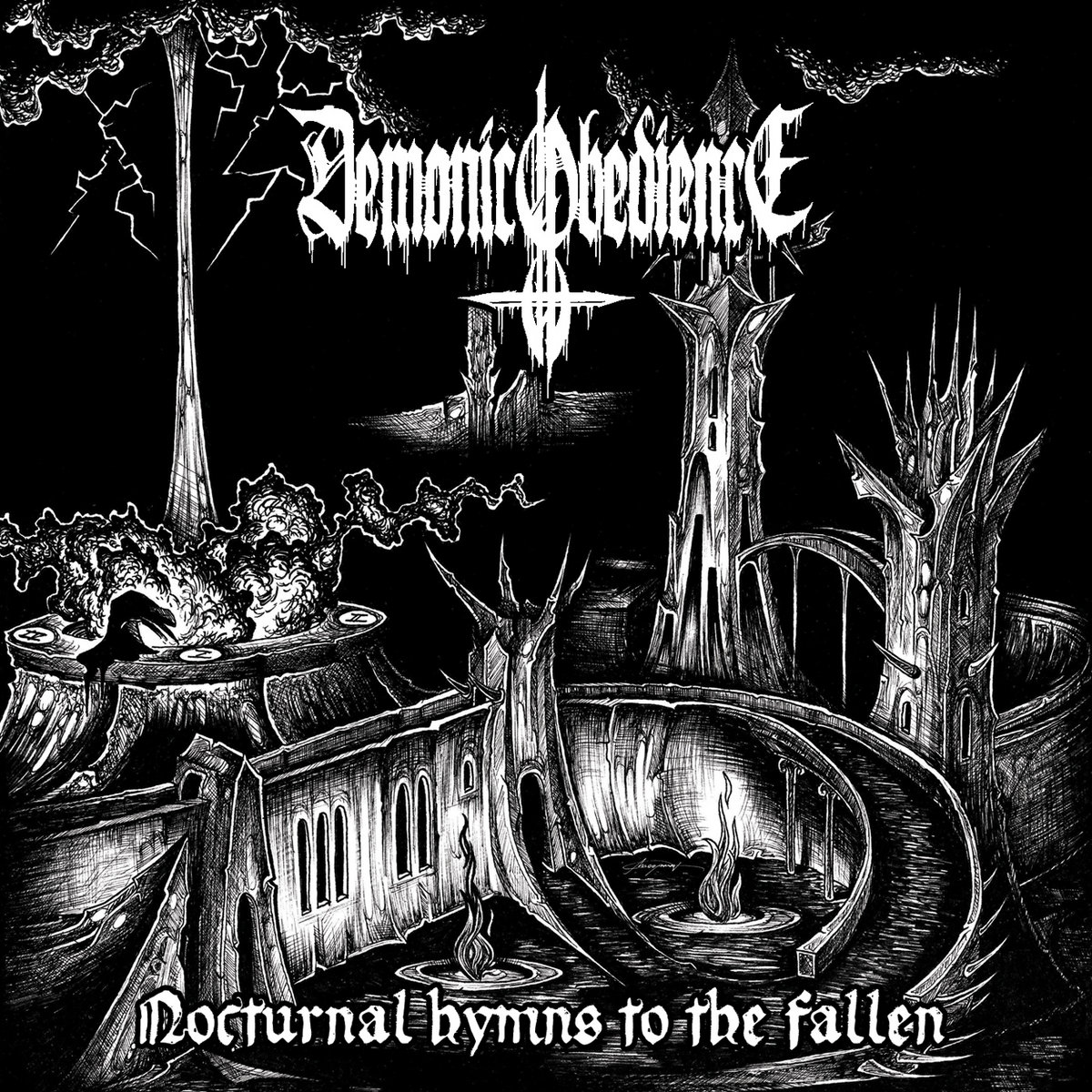 Image result for Demonic Obedience - Nocturnal Hymns to the Fallen