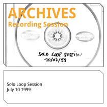 Solo Loop Session 10-7-1999 cover art