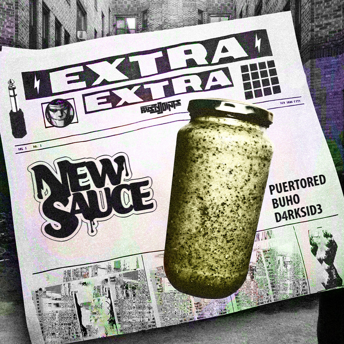 Extra Extra (feat. Puertored, Buho and D4RKSID3) [New Sauce] [Single] by Rusty Joints