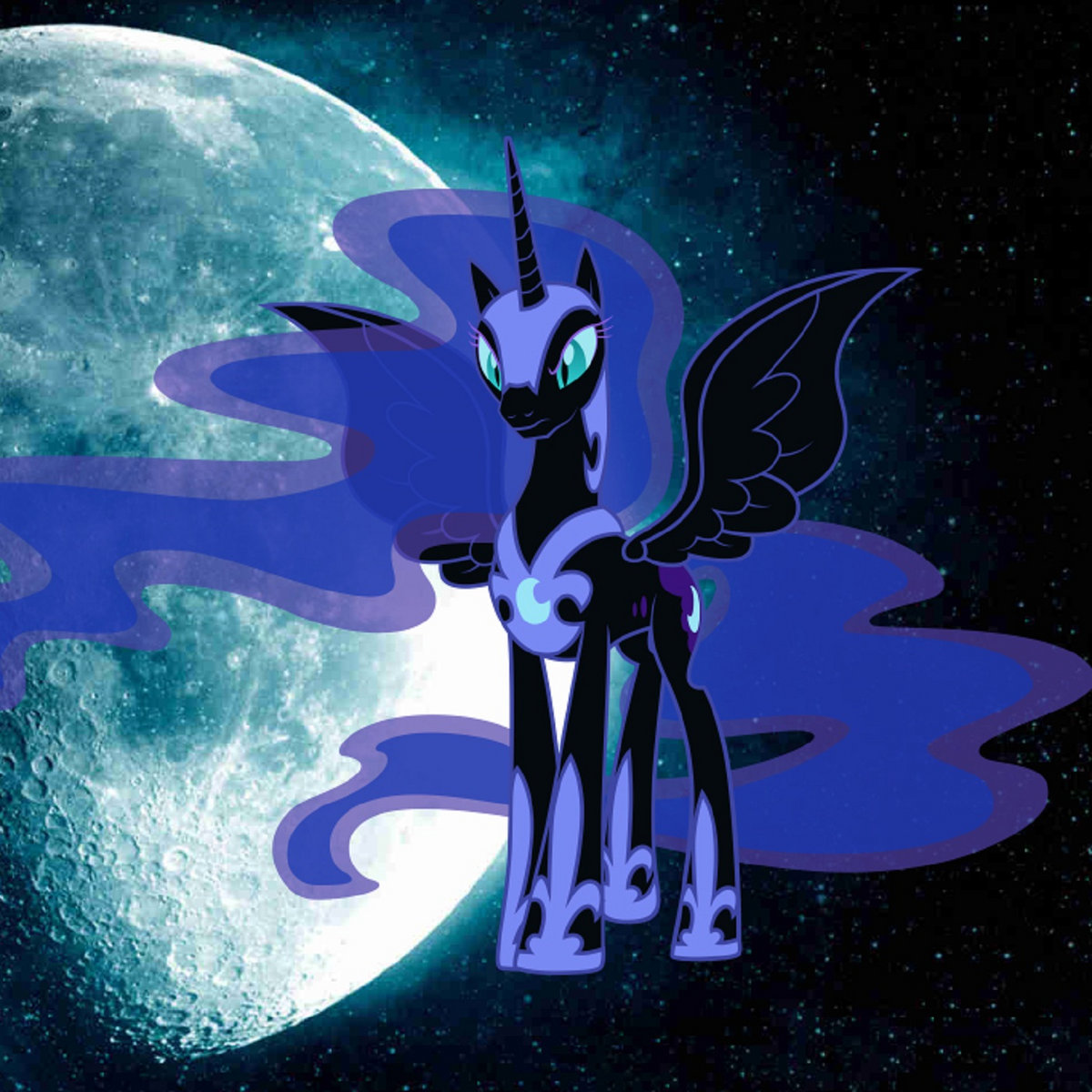 nightmare moon the lunar queen jyc row