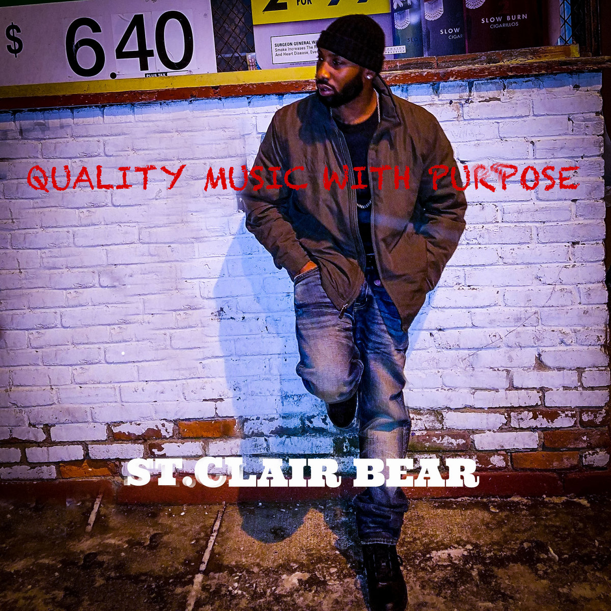 Quality Music With Purpose by St.Clair bear