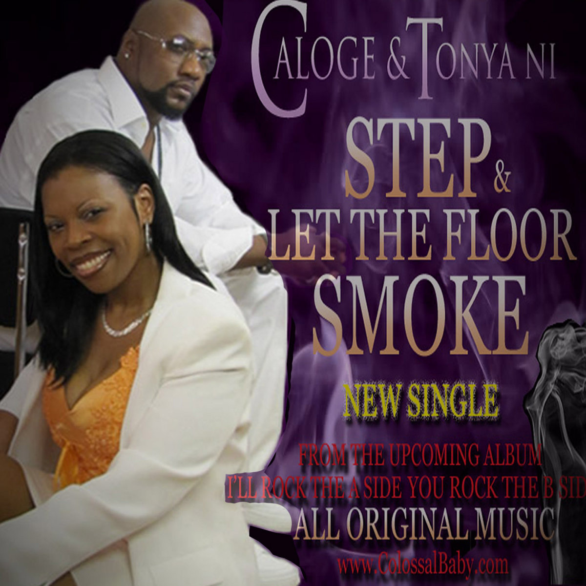 Step & Let The Floor Smoke by Caloge The Windshifter