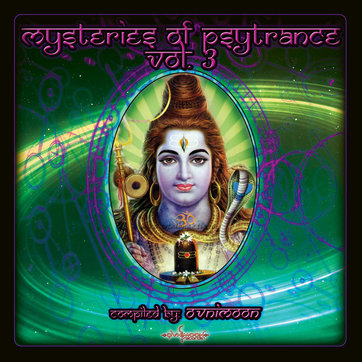 Mysteries of Psytrance Vol  3 - Compiled by Ovnimoon